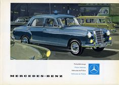 Mercedes - Benz Ponton Ad