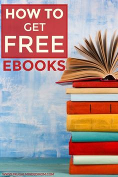 How to Get Free eBooks - Frugal Minded Mom