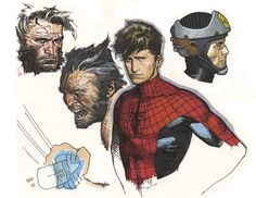 Sketches By Travis Charest
