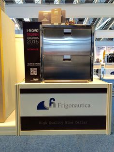 Frigonautica has been nominee in the category design at #i_novo contest for #METS2015! Visit our stand 01.848 and vote for us on http://inovo.nauticexpo.com/mets-2015/#voting !