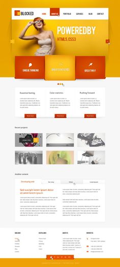 orange - HTML5