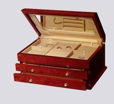 Maple Burl Two Drawer Jewelry Box. h1Maple Burl Two Drawer Jewelry Box_h1STRONGMaple Burl Jewelry Box._STRONGandnbsp Created with precision and crafted to perfection.andnbsp This impressive jewelry box features two pull-out drawers for neat storage of al.. . See More Jewelry Boxes at http://www.ourgreatshop.com/Jewelry-Boxes-C1090.aspx