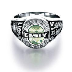 Custom class ring from Jostens #Achiever