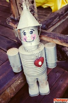 A funny picture of make your own tin man from wizard ofunny photos oz