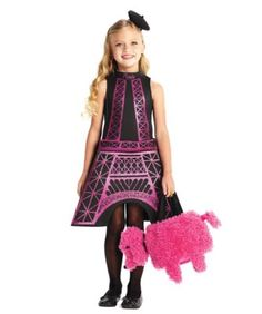 eiffel tower girls costume - Only at Chasing Fireflies - As the iconic symbol of Paris, all eyes are on you in this dazzling costume.
