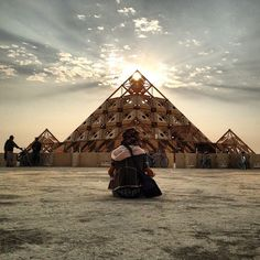 36 Surreal Instagram Images From Burning Man.