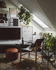 my scandinavian home: A Cosy Danish Loft Full of Plants & Vintage Treasures