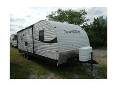 "Get most affordable deals on Cheap Used 2010 ‪#‎Kz‬ Sportsmen ‪#‎Travel_trailer‬ by Recreation Plantation Inc for $12900 in Lynwood, IL, USA. It's looks great condition and maintained well. This Rv Equipped with rear lounge chair, rear picture window, many windows, sofa/bed, dinette/bed,36"" super slide/flush floor, large kitchen, several kitchen cabinets, entertainment center, microwave, stove/oven, gas/electric refrigerator many more. Search more information at: http://goo.gl/GYjDUZ"