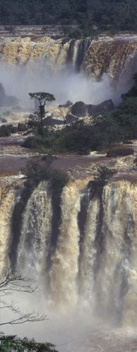 Cataratas del Iguazú - Argentina y Brasil