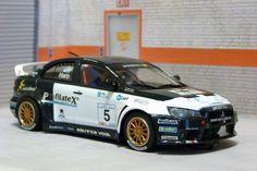 Avant Slot 50803. Mitsubishi Lancer EVO X. Rally Costa Blanca 2009. Xevi Pons-Alex Haro. #slotcar