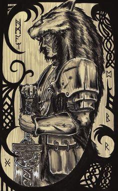 An Úlfheðinn Galdr Beginning as Ginnugagap Fire and ice in equal parts From Hagalaz to Yggdrasil Rising.