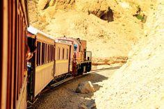 le train du lézard rouge dals les gorges de Selja Tunisie