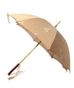 m.soeurの日傘。レース花が散っている。