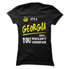 GEORGIA T shirts, GEORGIA hoodie  - #sweater diy #tumblr sweater. GET YOURS => https://www.sunfrog.com/LifeStyle/GEORGIA-T-shirts-GEORGIA-hoodie--Ladies.html?68278