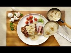 YouTube Menu Planners, Oatmeal, Pudding, Cheese, Breakfast, Desserts, Food, Sierra, Sauces