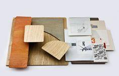 Studio Toogood materials and concept sketches