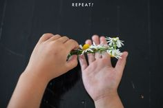 The House That Lars Built.: How to make a floral crown: Part 2