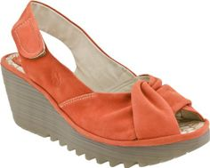 AwesomeNice FLY London Women's Yakin Ankle Strap Wedge