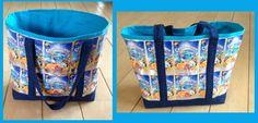 Capri Sonne / Capri Sunne / juice pouch grocery tote  bag / boodschappentas