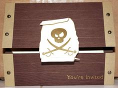 me pirate birthday invite by maryloves2stamp - Cards and Paper Crafts at Splitcoaststampers