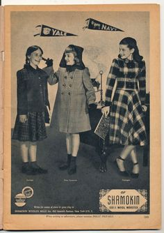 Vintage Polly Pigtails Magazine, 1948 Girl Scouts Issue, Pretty Little Girl Ephemera..