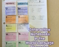 Interactive Notebooks in the World Language Classroom: Part Two