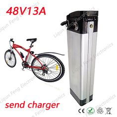 Free Customs Taxes 48V13AH Silver Fish Imported Sumsung 18650 Electric Bike Electric Motorcycle Kick Scooter Lithium ion Battery