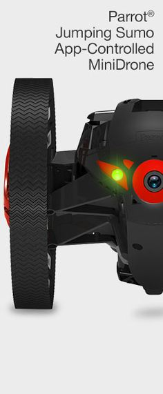 Parrot Jumping Sumo App-Controlled MiniDrone at Brookstone—Buy Now!