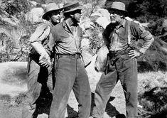 """The Treasure of the Sierra Madre"" Tim Holt, Humphrey Bogart, and Walter Huston 1948 Warner Bros. Hard Boiled Detective, Cowboy Films, Best Screenplay, John Huston, Humphrey Bogart, Western Movies, Great Films, Iconic Movies, American Actors"