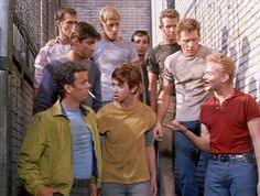 """West Side Story"" - The Jets and 'Anybodys' West Side Story Characters, West Side Story Movie, West Side Story 1961, Theatre Nerds, Musical Theatre, Theater, William Shakespeare, Disney Channel, George Chakiris"