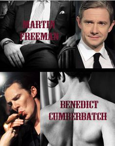 Martin Freeman and Benedict Cumberbatch.... Sorry, is it hot in here? Feels hot to me<----Not just you<<< What the actual... ah, screw it. No shame. This is too hot for words. Sue me.