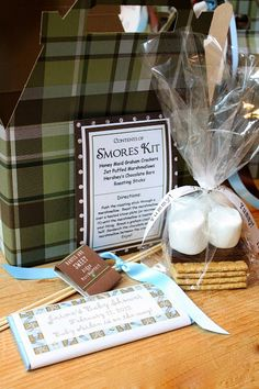 My Sweet Savannah: ~a s'mores themed baby shower~