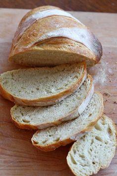 5 minutes prep for freshly baked bread