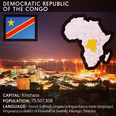 Feminist inspiration from @feministastic on Instagram:  The Democratic Republic of the Congo also known as #DRCongo #DRC #DROC #RDC #CongoKinshasa or simply #Congo is a country located in Central Africa. From 1971 to 1997 it was named Zaïre. The DRC borders the Republic of the Congo the Central African Republic and South Sudan to the north; Uganda Rwanda Burundi and Tanzania to the east; Zambia and Angola to the south; and the Atlantic Ocean to the west. It is the second largest country in…