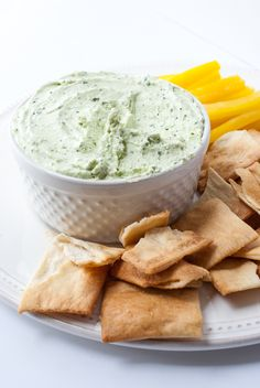 Whipped Feta & Spinach Dip | The Budding Table