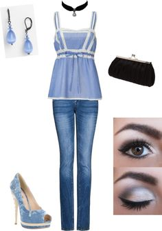 """Disney inspired outfits: Cinderella"" by melissa-rose-723 on Polyvore"