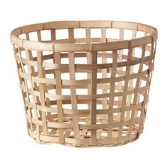 Store your clutter in beautiful, well-made storage baskets from IKEA. We offer baskets in many materials, such as wicker and fabric.