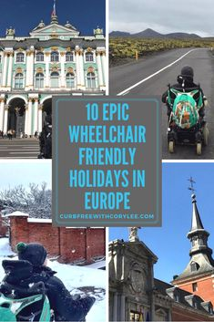 From fleets of accessible taxis to tour companies that have all the inside information to help you plan your dream vacation, there are plenty of wheelchair friendly holidays in Europe for you to consider. All of the cities on this list have great accessibility, which will allow you to focus on the destinations over the logistics. #wheelchair #wheelchairlife #wheelchairaccessible #accessibility #accessible #traveltips #europetravel #accessibletravel