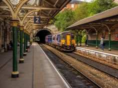 Train to Leeds arriving: Photo by Photographer Jack Brittain