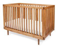 All Slat Ray Crib (Honey)
