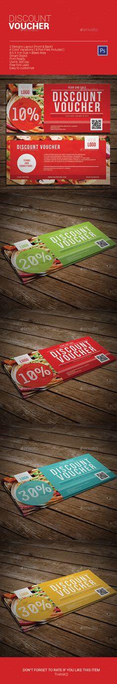 Discount Voucher Template PSD | Buy and Download: http://graphicriver.net/item/discount-voucher/9868752?ref=ksioks