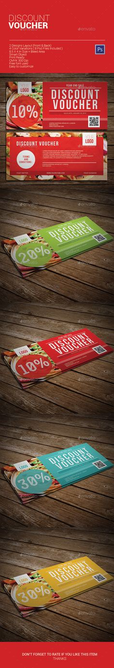 Discount Voucher Template PSD | Buy and Download: http://graphicriver.net/item/discount-voucher/9868752?ref=ksioks