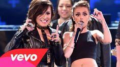 Demi Lovato ft. Cher Lloyd - Really Don't Care (Live Teen Choice Awards ...