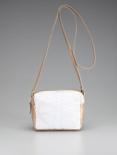 Pippa Python Crossbody by Be and D on Gilt