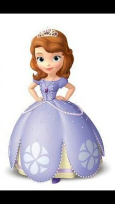Cardboard Cutout depicting Sofia from Disney's hit television series, Sofia the First. Great for any children's or Disney themed party. Item is a cardboard cutout. Princess Sofia Birthday, First Disney Princess, Princess Sofia The First, Sofia The First Birthday Party, Princess Party, Princess Sofia Cake, Sofia The First Characters, Holly Hobbie, Polly Pocket