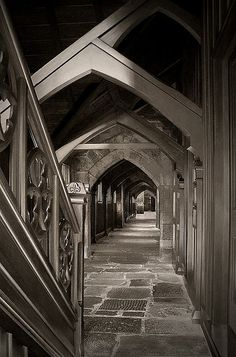 Early Medieval Christchurch. The long corridor of the Canterbury Provincial Government building. Not tooo bad for a country thats only about 150 years old. But I would say after the earthquake, all gone now :(