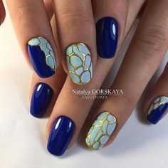 Friendly Nail Art Community with Nail Art Picture and Video Tutorials. Make your nails look awesome and share your nail art designs! Beautiful Nail Designs, Beautiful Nail Art, Nail Polish Designs, Nail Art Designs, Nagellack Design, Manicure E Pedicure, Fabulous Nails, Flower Nails, Blue Nails