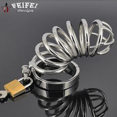 32.19$  Watch here - http://alipxv.shopchina.info/go.php?t=32611209726 - Foreign selling Long stainless steel male chastity device cock rings metal cock ring penis ring cock cage sex toys for women  #buymethat