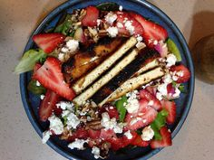 Find this Extraordinary Strawberry Salad V recipe and over a million other food and drink recipes at www.reciping.com