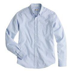 Medium - Slim Thomas Mason® for J.Crew shirt in pinpoint oxford
